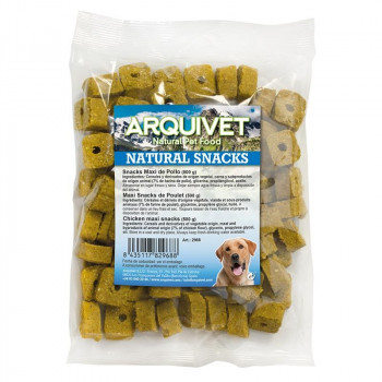 Snacks Maxi Pollo -Arquivet...