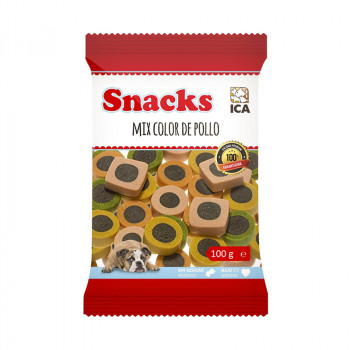 Snacks Mix Color Pollo -...
