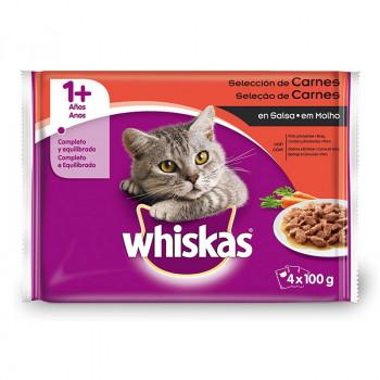 Whiskas Selección Carnes -...