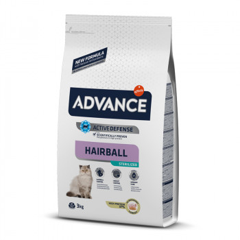 Advance Hairball sterilized...