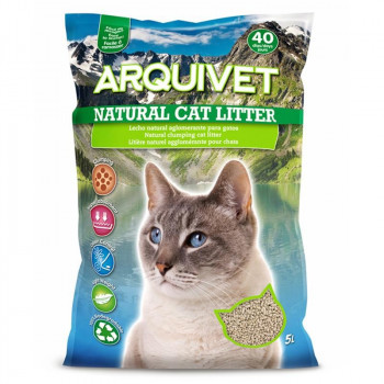 Lecho Natural para Gatos...