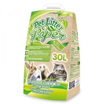Lecho de Papel Pet Litter...