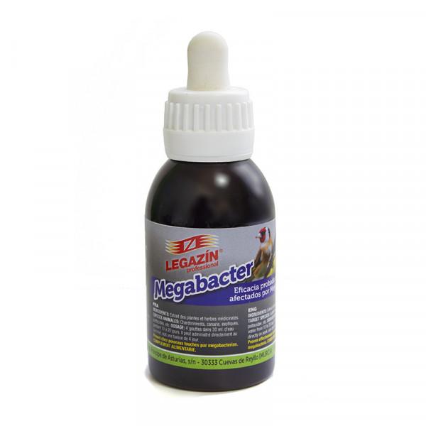 Legazín Megabacter   160 ml.