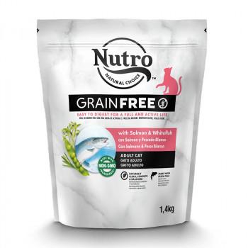 Grain Free Gato Salmón y...