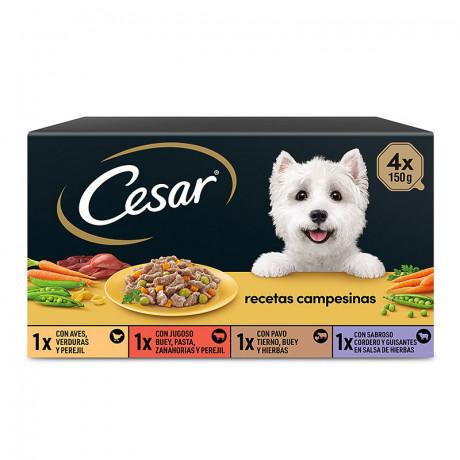 CESAR RECETAS CAMPESINAS (4X150g)