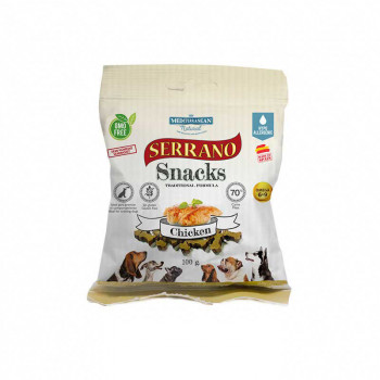 Serrano Snacks Pollo - 100 gr.
