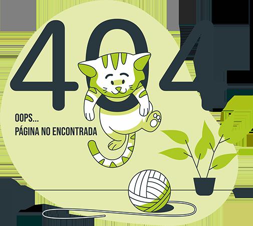 Página no encontrada 404